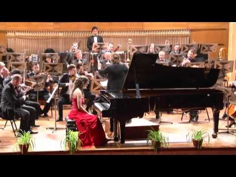 Axia Marinescu plays Mozart piano Concerto no.20 KV 466, in d minor