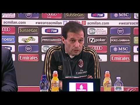 AC Milan | Allegri: 'Con l'Atalanta dobbiamo vincere'