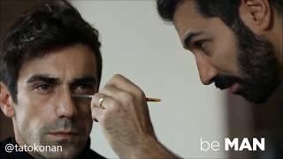 "Be Man & Be Style""Ibrahim Celikkol VE Birce Akalay"" //ابراهيم تشيلكول و بيرجي اكلاي من مجلتي"