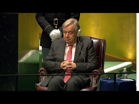 Antonio Guterres appointed next UN secretary-general