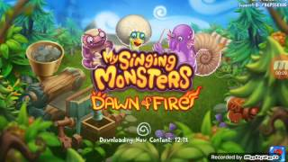 começando um time de sucesso (My singing monsters dawn of fire)