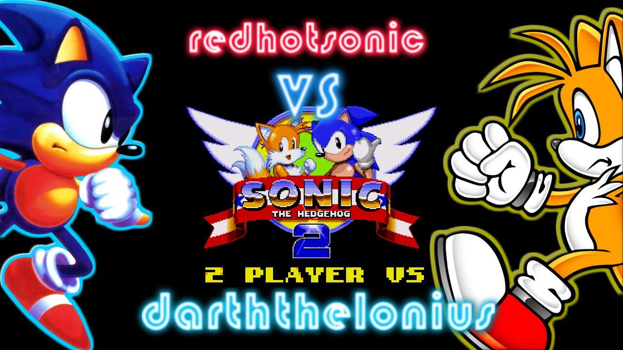 Sonic 2 - 2 Player VS - redhotsonic vs darththelonius #1