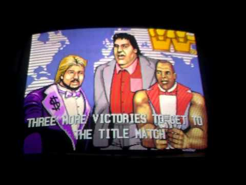 WWF Superstars Arcade Game - No One Can Beat.. Million Bucks!!!! WWE