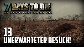 7 Days to Die [13] [Unerwarteter Besuch] [Double Team] [Let's Play Gameplay Deutsch German HD] thumbnail