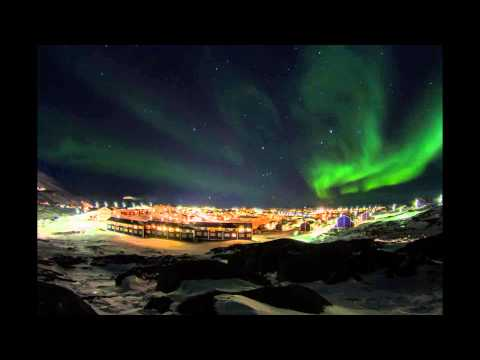 Timelapse in Nuuk   Northern Lights HD
