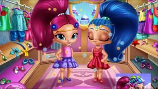 Мультик #игра с Шиммер и Шайн ОДЕВАЛКИ для Shimmer and Shine Новые мультики 2017 Игры для девочек
