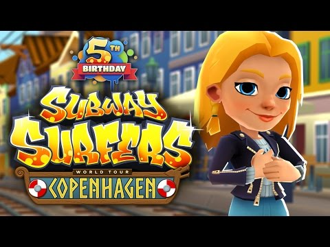Subway Surfers World Tour 2017 - Copenhagen - Official Trailer - 5th Birthday Special!