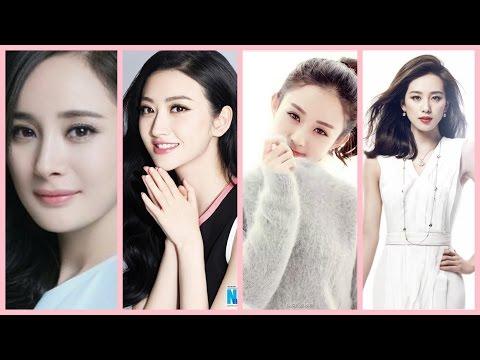 10 Sao nữ trẻ quyền lực nhất của làng giải trí Hoa Ngữ