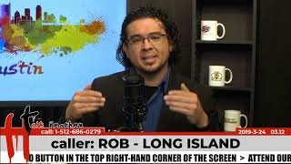 Rob's Flight of Ideas & Poor Content | Rob - Long Island | Talk Heathen 03.12