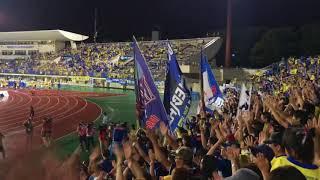 モンテディオ山形vsツェーゲン金沢 blue is 県民歌.