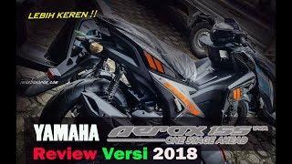 Kupas warna baru Yamaha AEROX 155 versi 2018, beda cak !