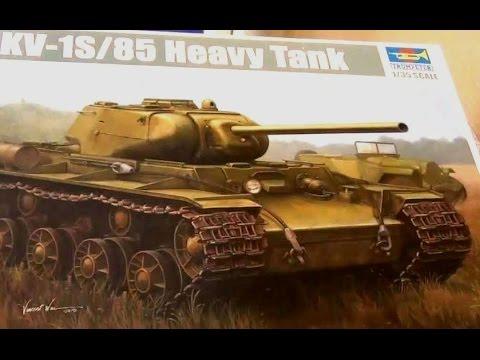 видео: КВ-1С trumpeter - сборка стендовой модели часть 1 - стендовый моделизм - танк своими руками