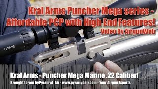 Kral Arms Puncher Mega Series Airguns - Affordable High End Features! - By AirgunWeb