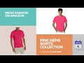 Pink Mens Shirts Collection Mens Fashion On Amazon