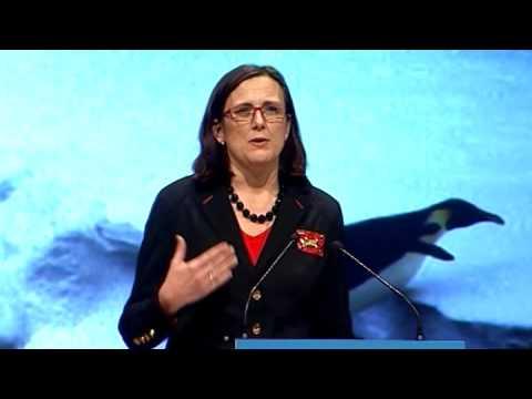 Cecilia Malmströms Tal Under Landsmötet 2009