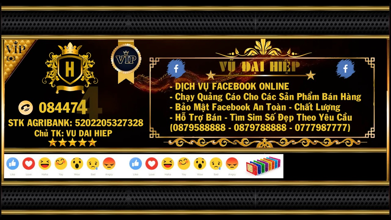 Video Bìa Facebook Marketing Chất Nhất 2019 [Mẫu 2]