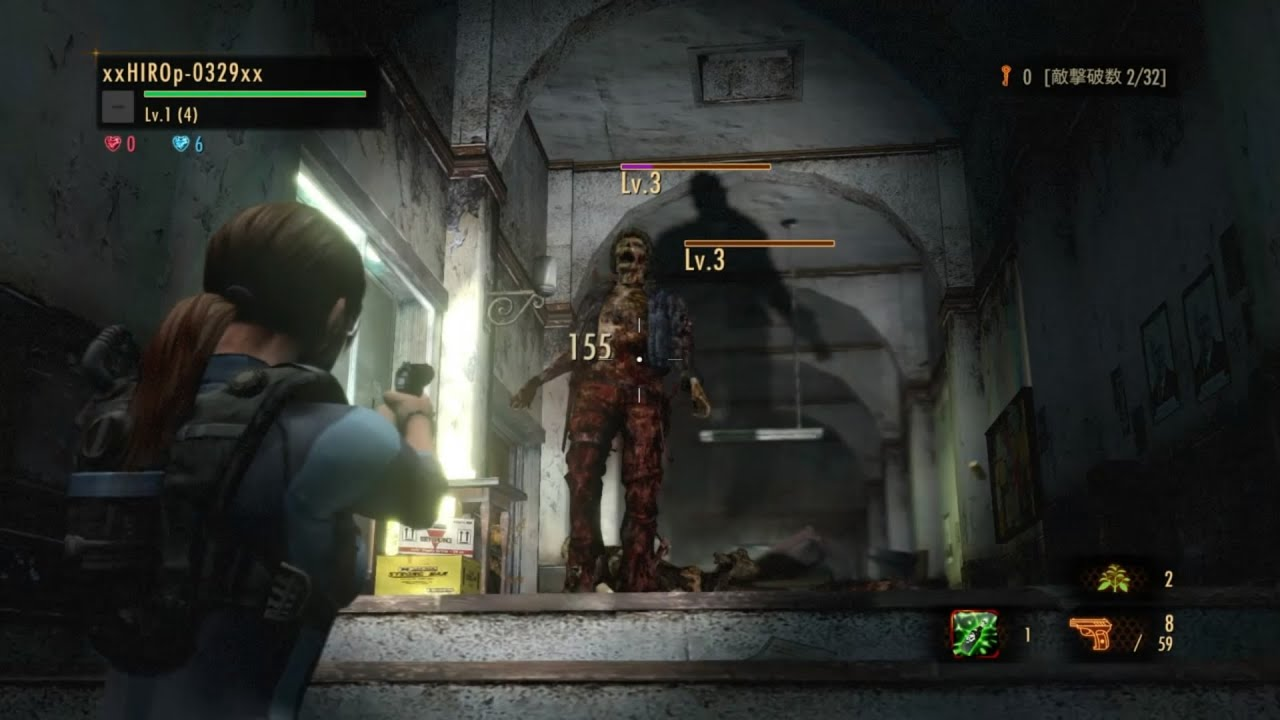 Resident evil revelations 2 claire and moira nude mod - 4 4