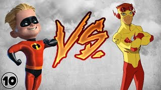 Dash vs Kid Flash