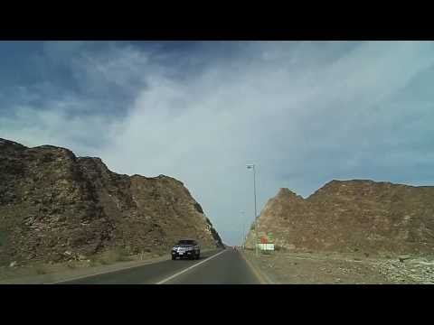 Trip to Khor Fakkan, UAE