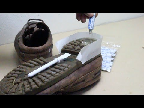 How To Fix Shoes & Worn Heels With Stormsure Adhesive | Repair Any Shoes Permanently!