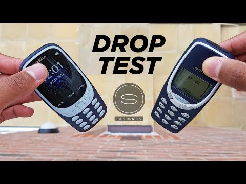 NEW Nokia 3310 DROP TEST vs Original Nokia 3310