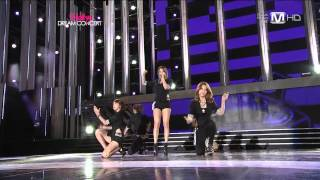 4Minute - Mirror Mirror + Hot Issue (06 Oct, 2011)