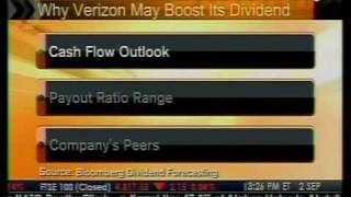 Verizon May Raise Dividend - Bloomberg