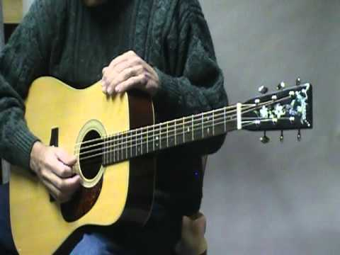 Bluegrass flatpicking coordination exercise