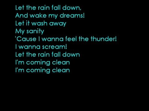 Come Clean - Hilary Duff (LYRICS)