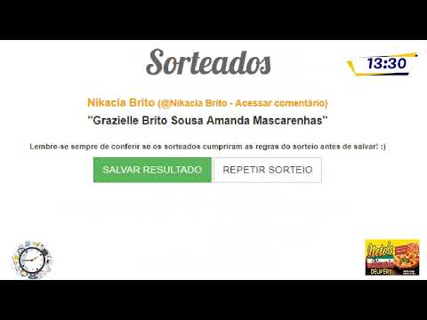 Live:Meio-Dia e Meia com Marcus Augusto, hoje Sorteio forró do lago e Fernanda gerente do SENAC