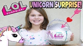 LOL Unicorn Surprise! Full Unboxing of Customized LOL Pearl Surprise