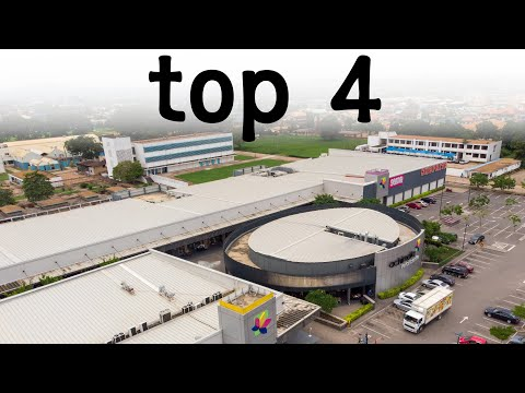 Top 4 Shopping Malls in Accra