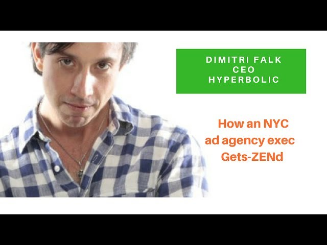 How An NYC Ad Exec Stays Calm &  Gets-ZENd