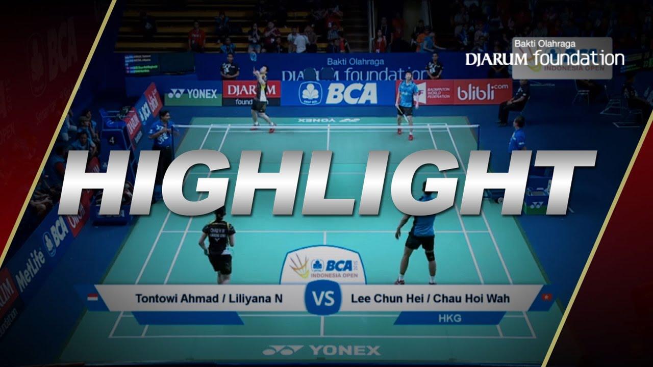 Tantowi Ahmad Liliyana Natsir INA VS Lee Chun Hei Chau Hoi Wah