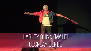 Animania 2016 Harley Quinn (Male) - Suicide Squad Cosplay Defile
