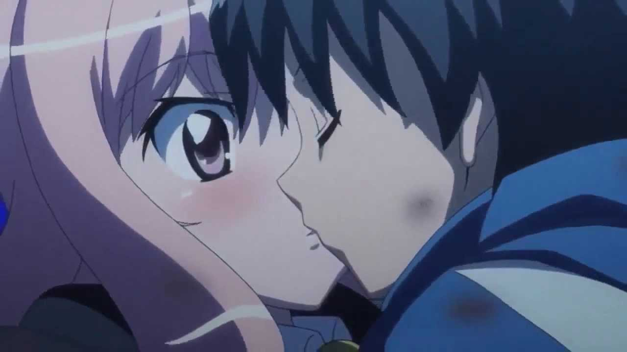 картинки луиза и сайто поцелуй намерен