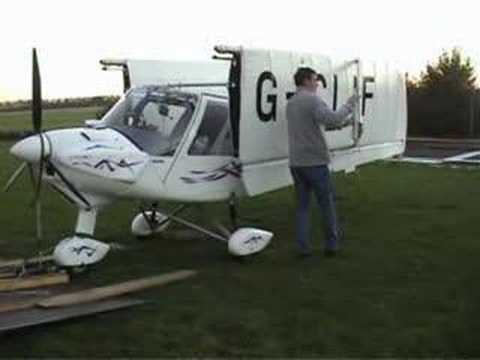 Putting A Ikarus C42 To Bed Youtube