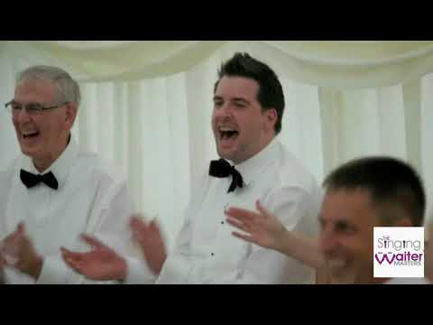 The Singing Waiter Masters - The finest and funniest Singing Waiters to hire for your wedding