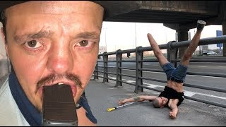 VLOG ● Вагонетка Смерти | Затащил инвалида в подвал !