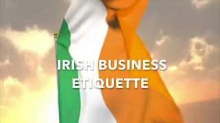 Irish Business Etiquette