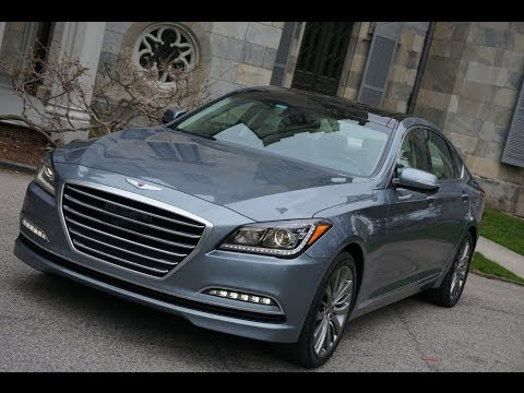 2015 hyundai genesis 5 0 detailed walkaround doovi. Black Bedroom Furniture Sets. Home Design Ideas
