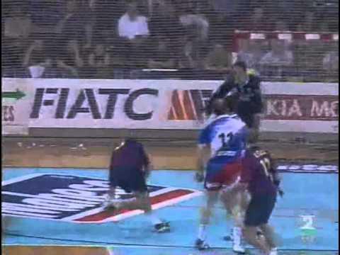 Liga de Campeones 2000/01 - Barcelona vs San Antonio - Final VTA (Barcelona)