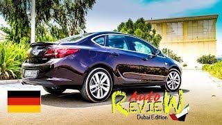 2014 Opel Astra Cosmo Limousine - AutoReview - Dubai (Episode 14) [DE]