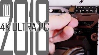 4K Ultra Gaming PC 2018 #10 Noch mehr Kabel / Selber zusammenbauen für Anfänger