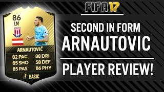FIFA 17 SECOND IN FORM MARKO ARNAUTOVIC (86) PLAYER REVIEW! | FIFA 17 ULTIMATE TEAM(, 2017-01-18T20:22:35.000Z)