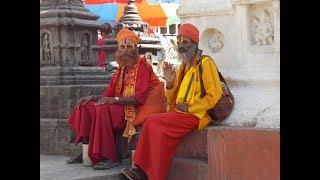 Катманду.День третий.Ступа Сваямбунатх,обезьяний храм.