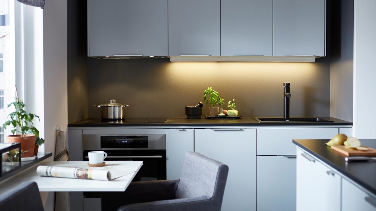 Maximise A Tiny Space Small Kitchen Ideas Ikea
