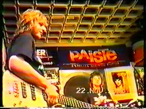 Running Wild - Hamburg 22.11.1990 (Instrumental workshop in a music store)