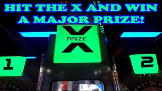 Hit The X To Win A Nintendo Switch, PS4, or Xbox One! X-Prize Arcade Game! TeamCC
