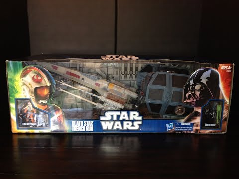 Star Wars Death Star Trench Run Toys R Us Exclusive Review